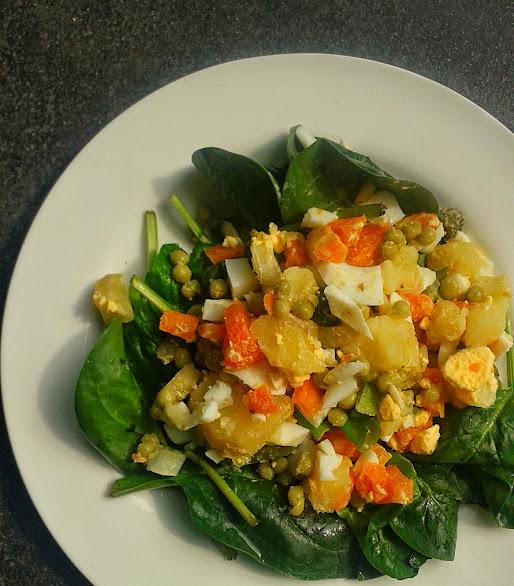 Welcome to Mommyhood: healthy salad