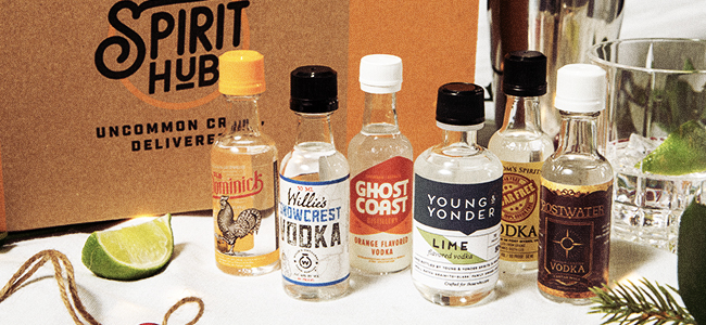 The Vodka Virtuoso Spirit Box, One of the Best Gifts for 2020