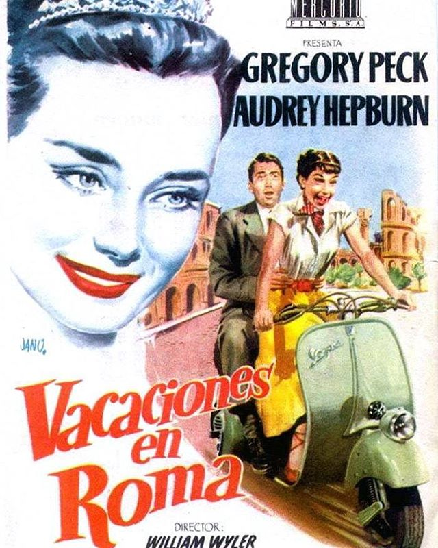 Vacaciones en Roma (1953, William Wyler)
