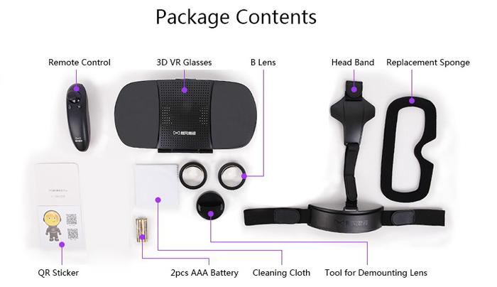 Kính thực tế ảo VR Baofeng Mojing 3 Plus (Ảnh 11)