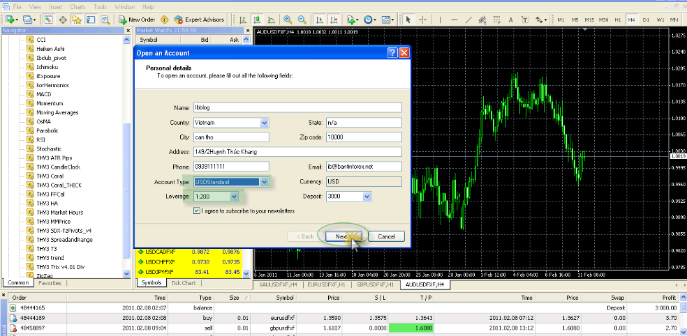 forex demo