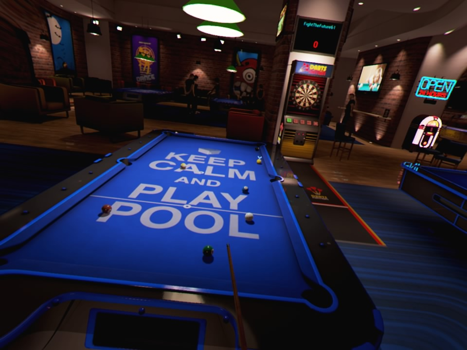 VR Pool Table