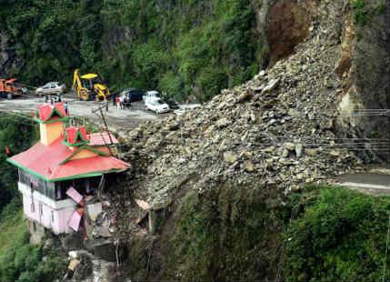 Image result for landslide in himachal