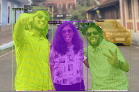 sample image2   object detection with detectron2