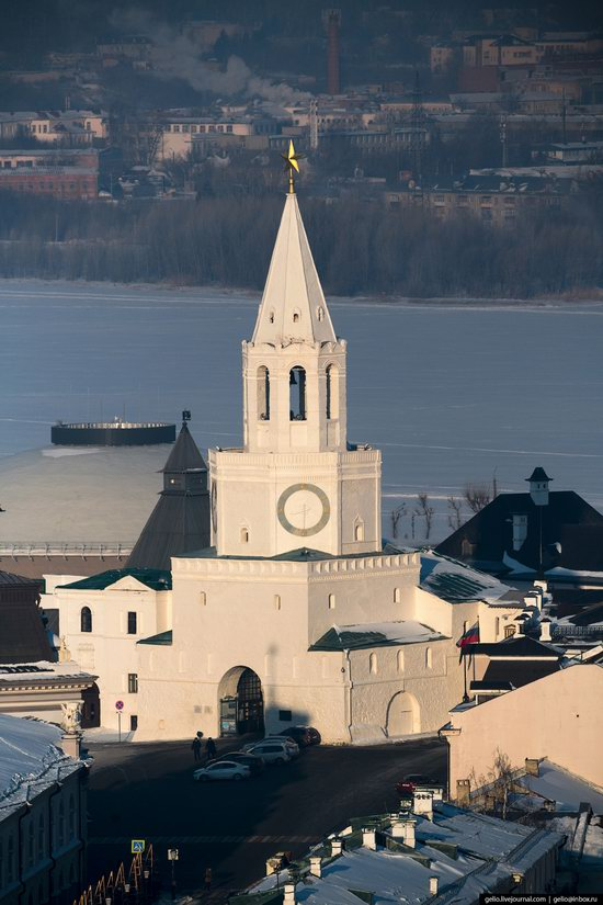Winter in Kazan, Russia - the view from above, photo 6