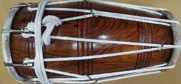 Recording Handmade Sheesham Wood 8 Kg Best Dholaks In India