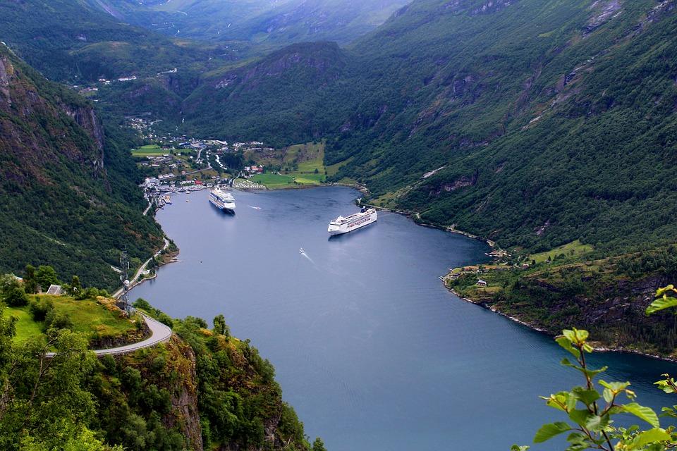 Free photo: Geiranger, Norwegian Fjord - Free Image on Pixabay ...