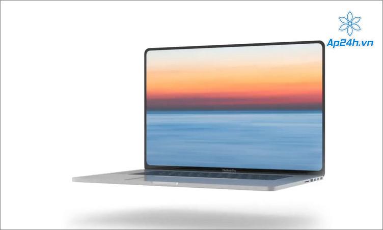 Viền màn hình MacBook Pro 2021 có thể sẽ mỏng hơn