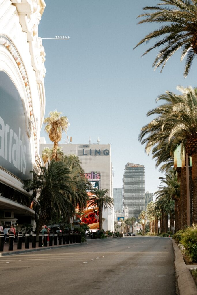 Street in Las Vegas