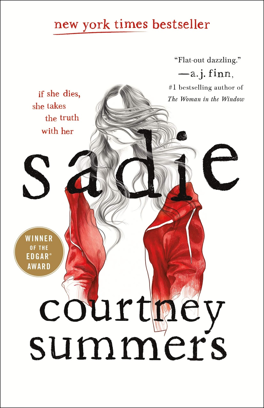Image result for sadie by courtney summers book cover