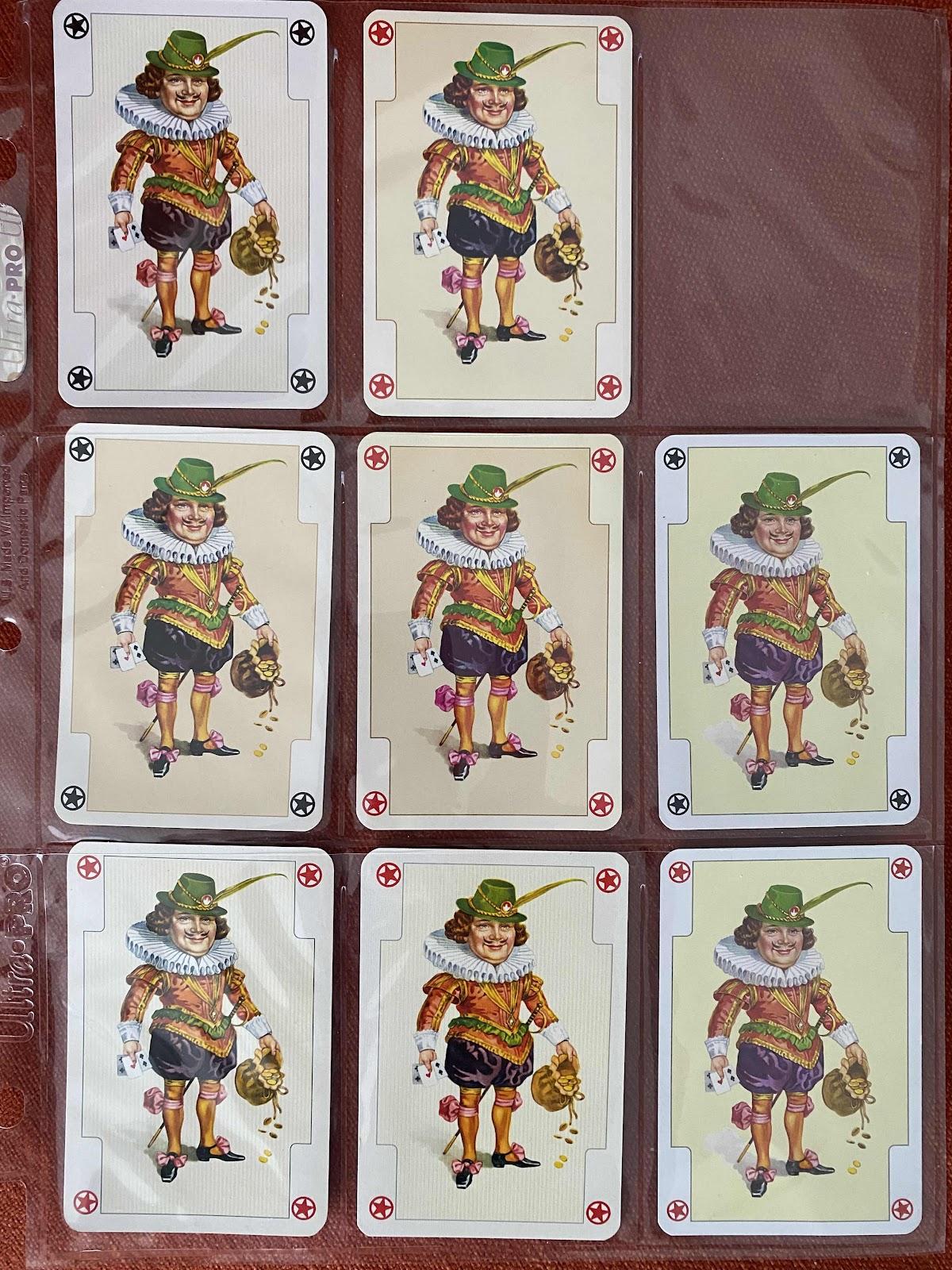 money bag jokers with swords