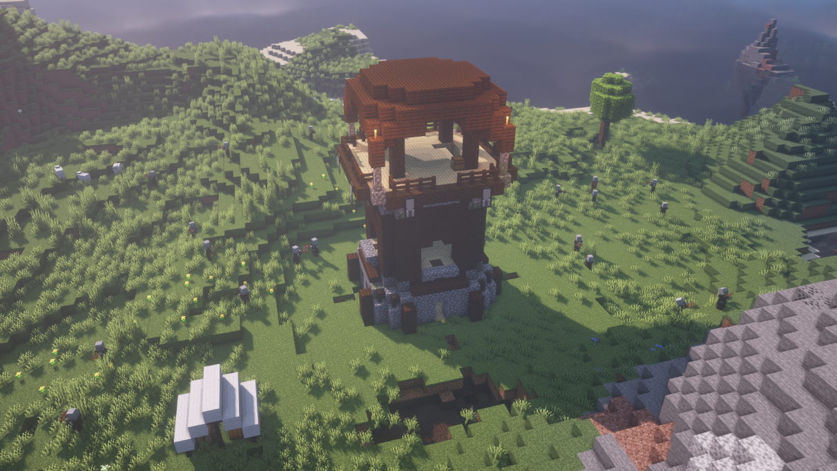 Pillager Outpost in Minecraft