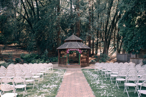 The Villa Chanticleer wedding venue in Napa
