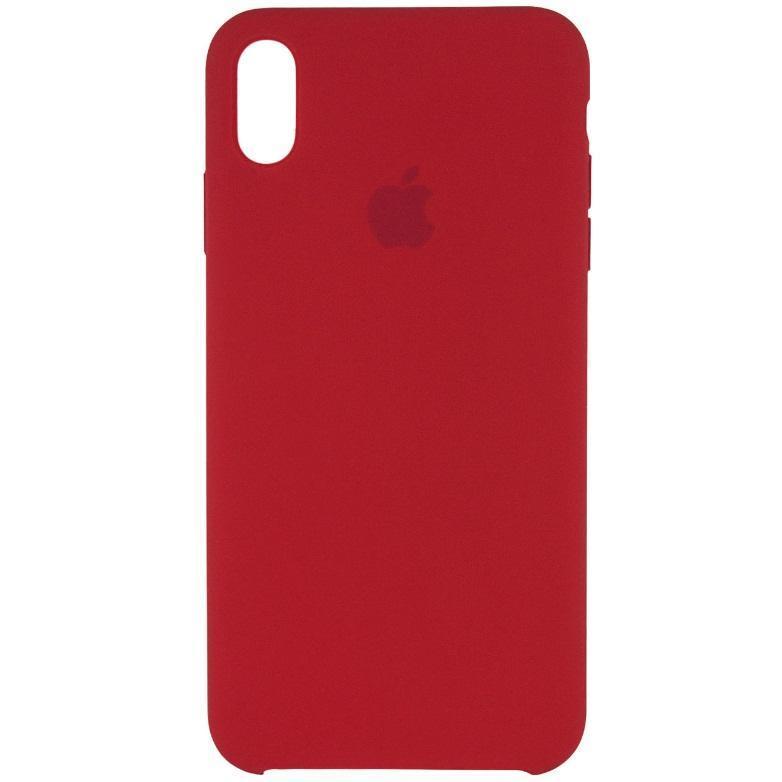 Картинки по запросу Чехол Silicone case (A) для Apple iPhone XS Max (6.5