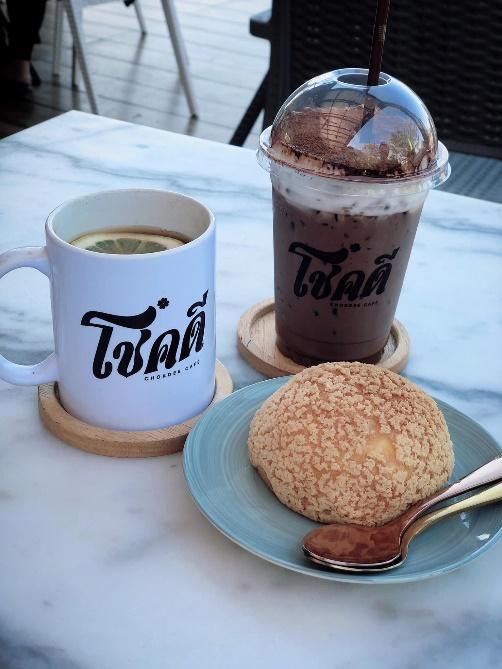 1. โชคดีคาเฟ่ - Chokdee Cafe 02