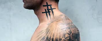 Neck Tattoo Designs For Boys