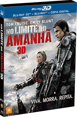 Filme Poster No Limite do Amanhã BDRip XviD Dual Audio & RMVB Dublado
