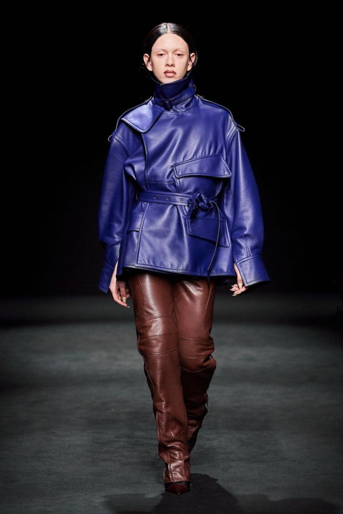 Leather raincoats 24