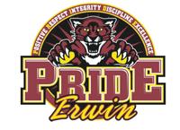 Lucile Erwin Middle School logo