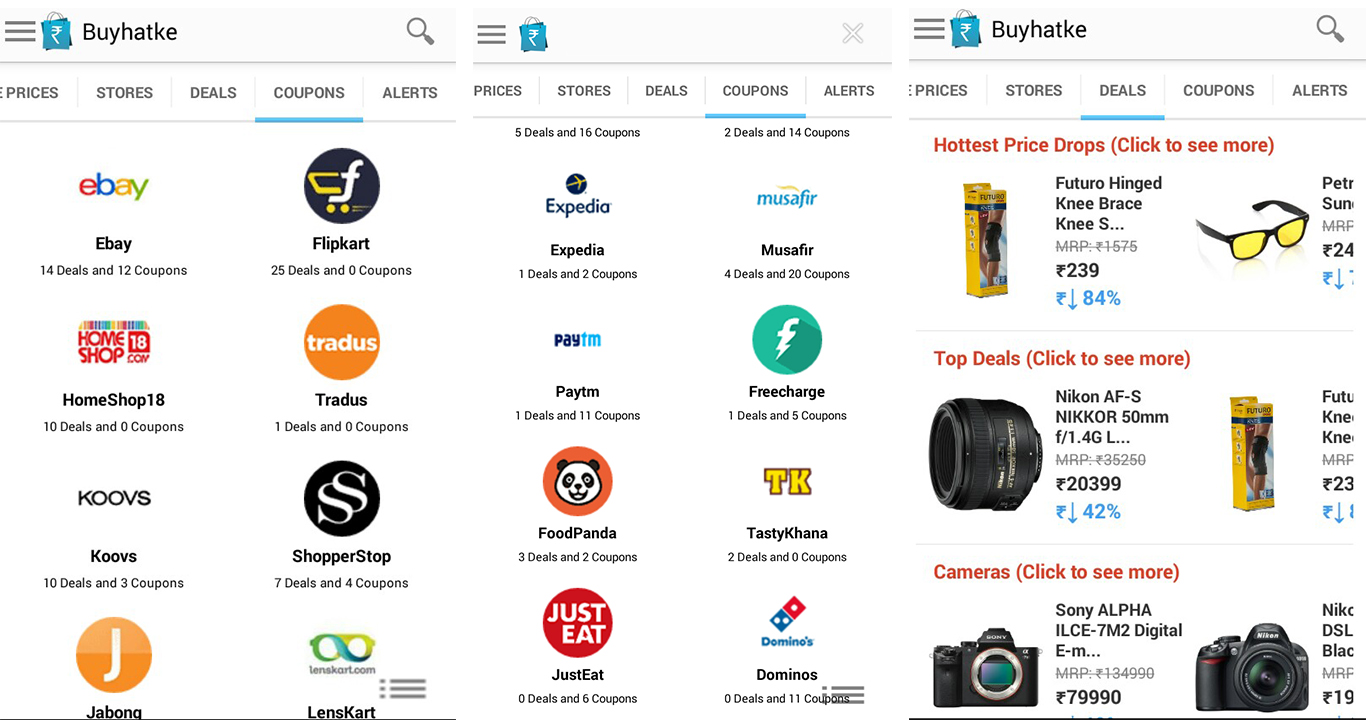 Best app for online shopping recharge food with cool for Best online shops usa