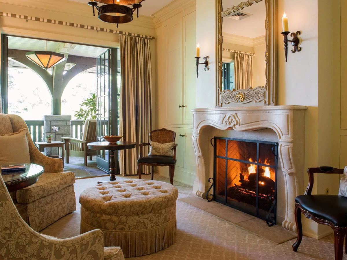 Gorgeous Fireplace With Mantel