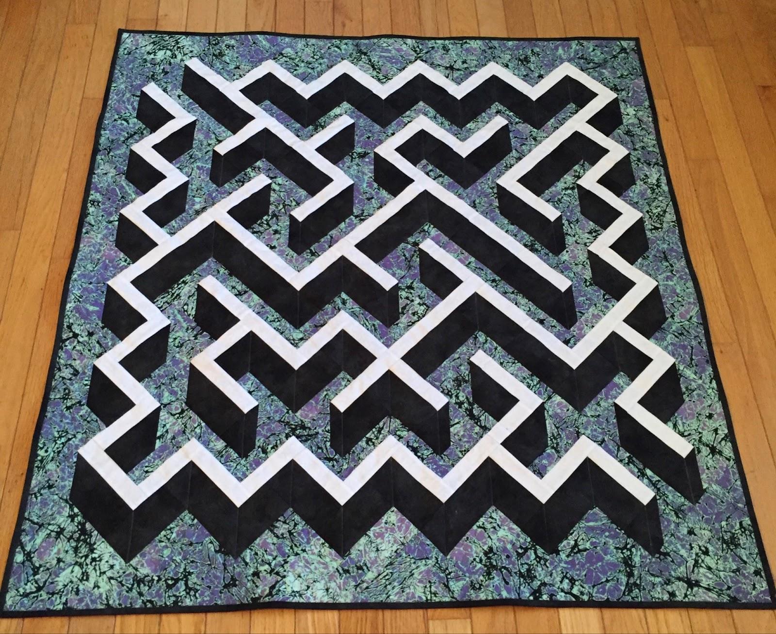 3D maze on the diagonal