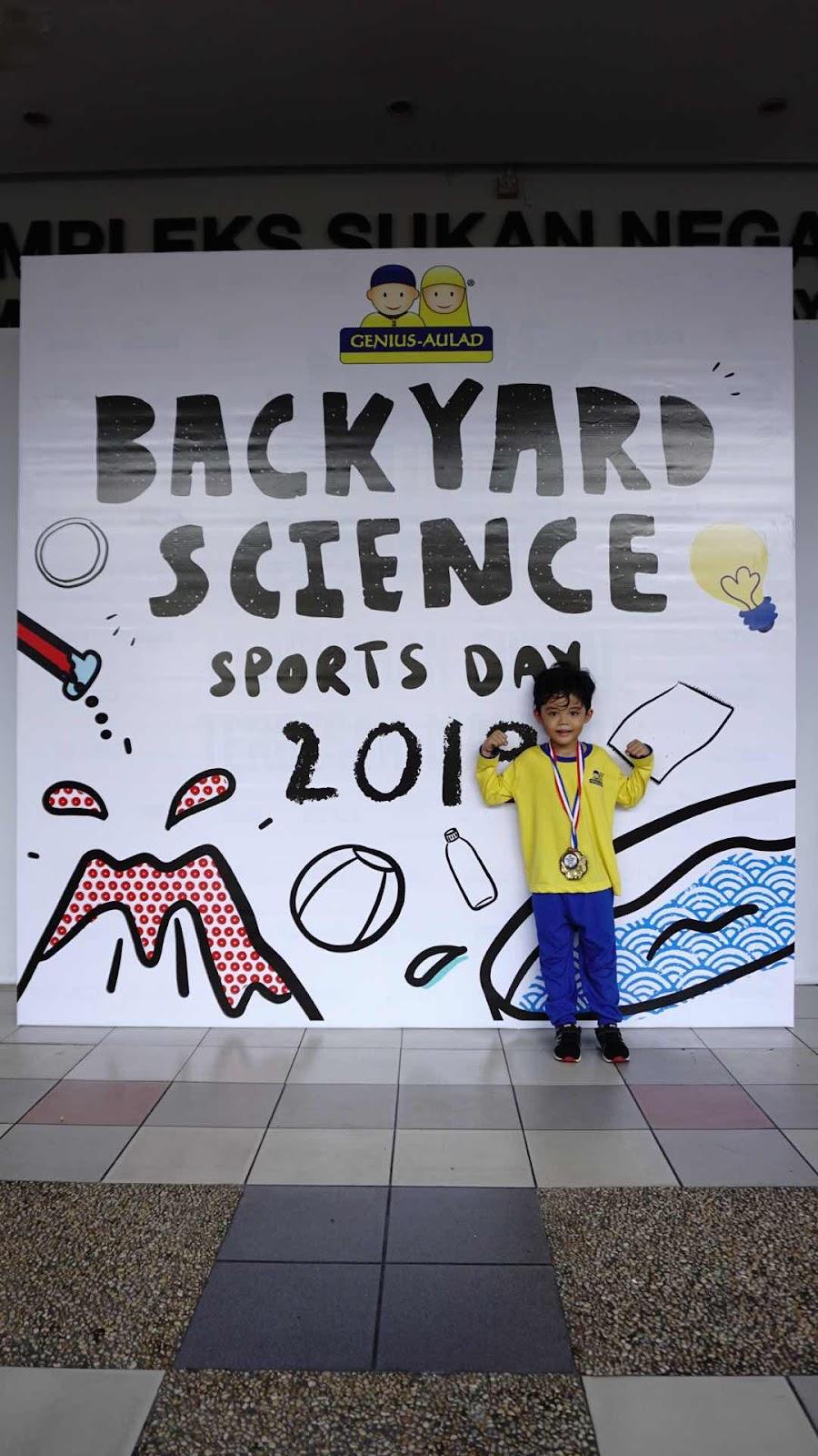 BackYard Science 2019 Sportday Genius Aulad Saujana Utama