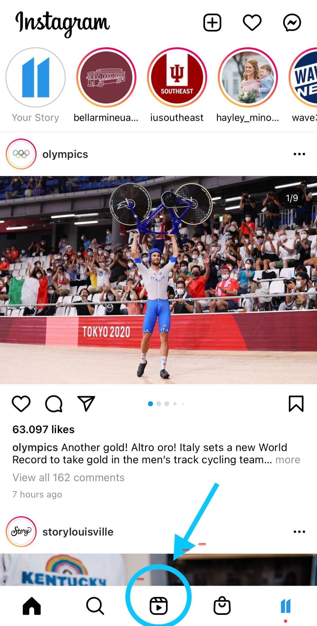 Instagram Reels example 1