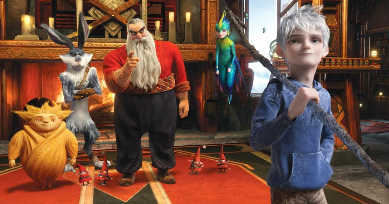 The Guardians and the hot guy Jack Frost