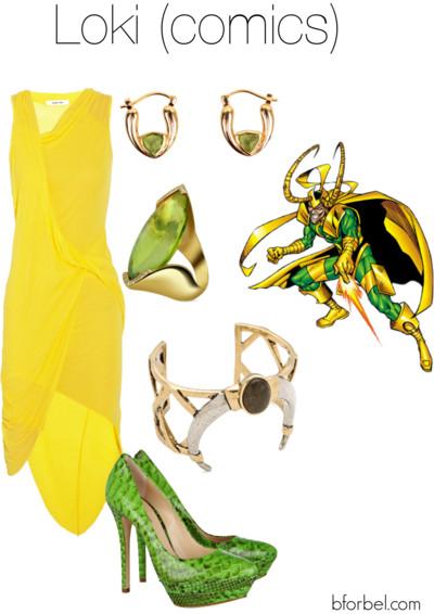 loki avengers outfit idea