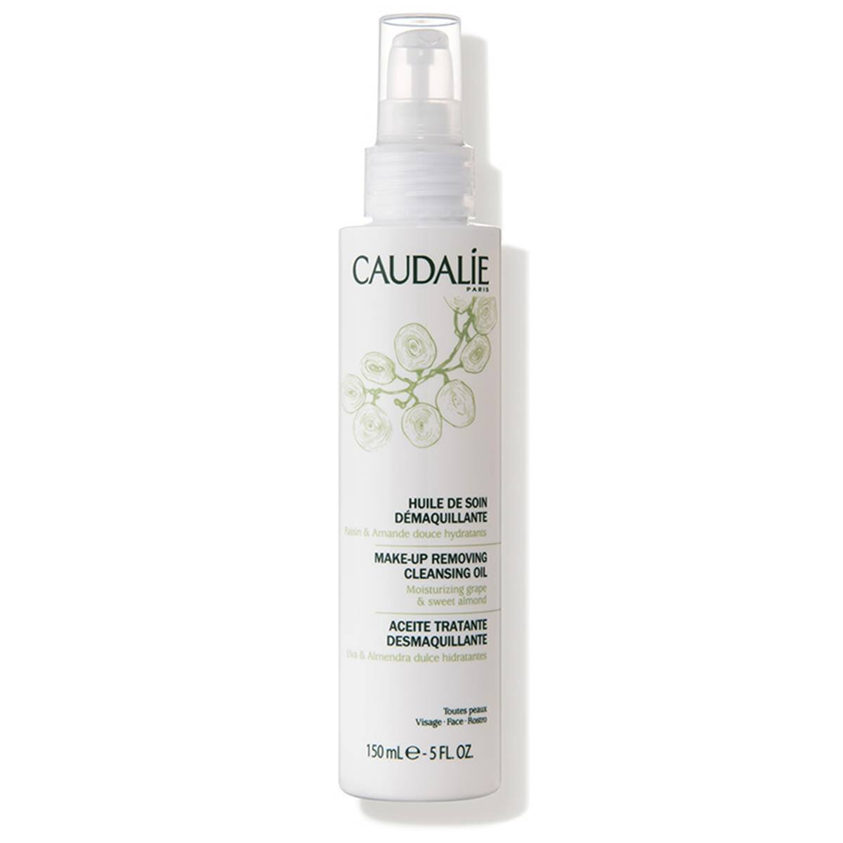Caudalie  Make-Up Removing Cleansing Oil ($28)