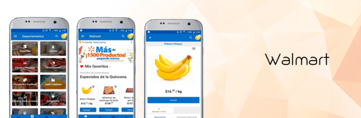 React Native in the walmart app