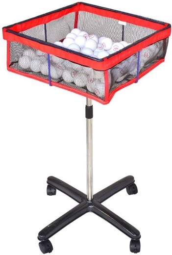A product to hold balls for table tennis training