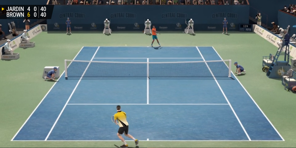 VIRTUAL TENNIS luckyniki