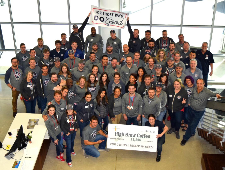 The High Brew Coffee team