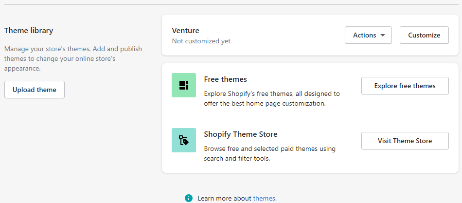 you can upload your own theme in shopify