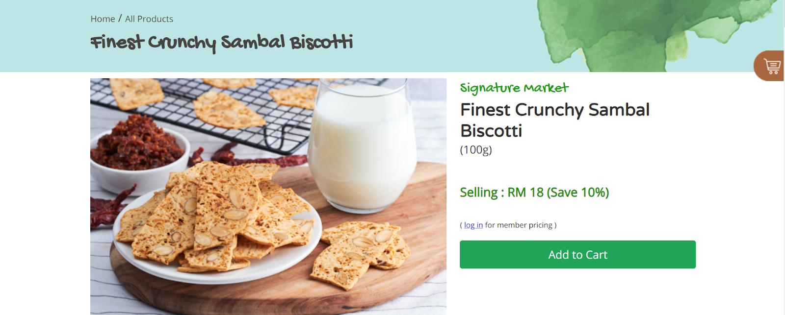 Healthy Snacks Malaysia, signature market