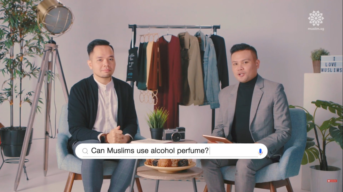 alcohol perfume is allowed in islam