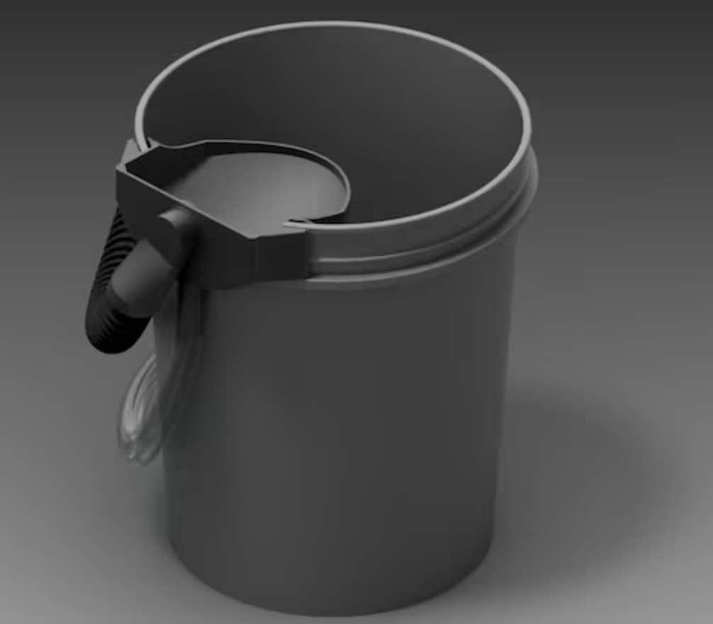 DIY Composting Bucket Toilet