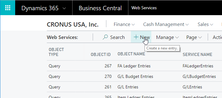 Denodo Dynamics 365 Business Central Templates - Quick Use Guide