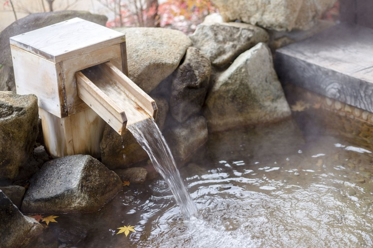 The mineral-rich hot springs at Odaiba Ōedo Onsen Monogatari are known to have soothing properties