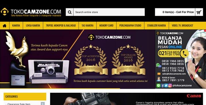 tokocamzone-opencart-website
