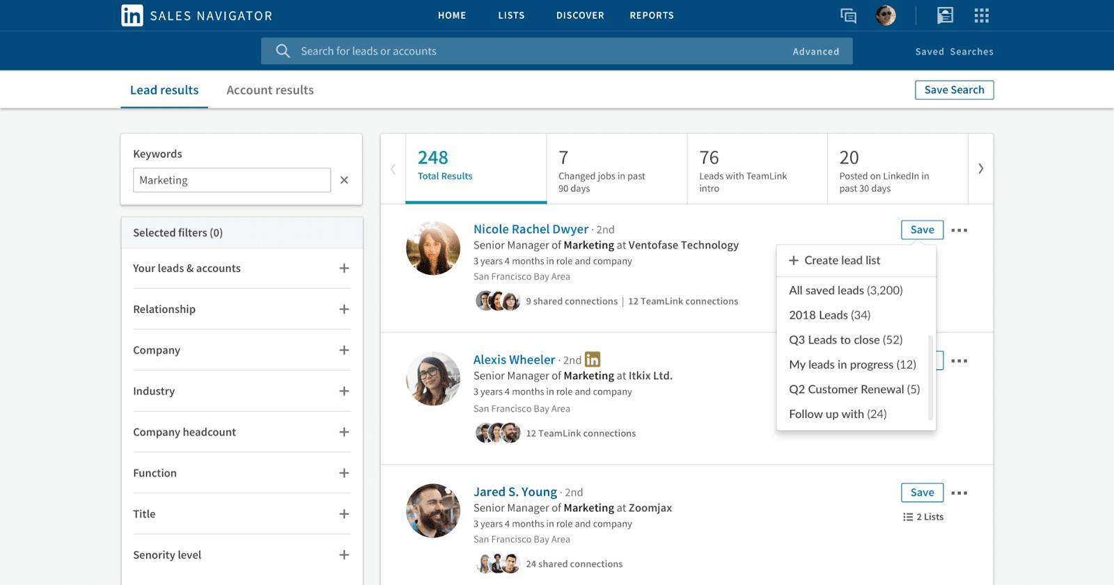 LinkedIn Sales Navigator - Sales Automation