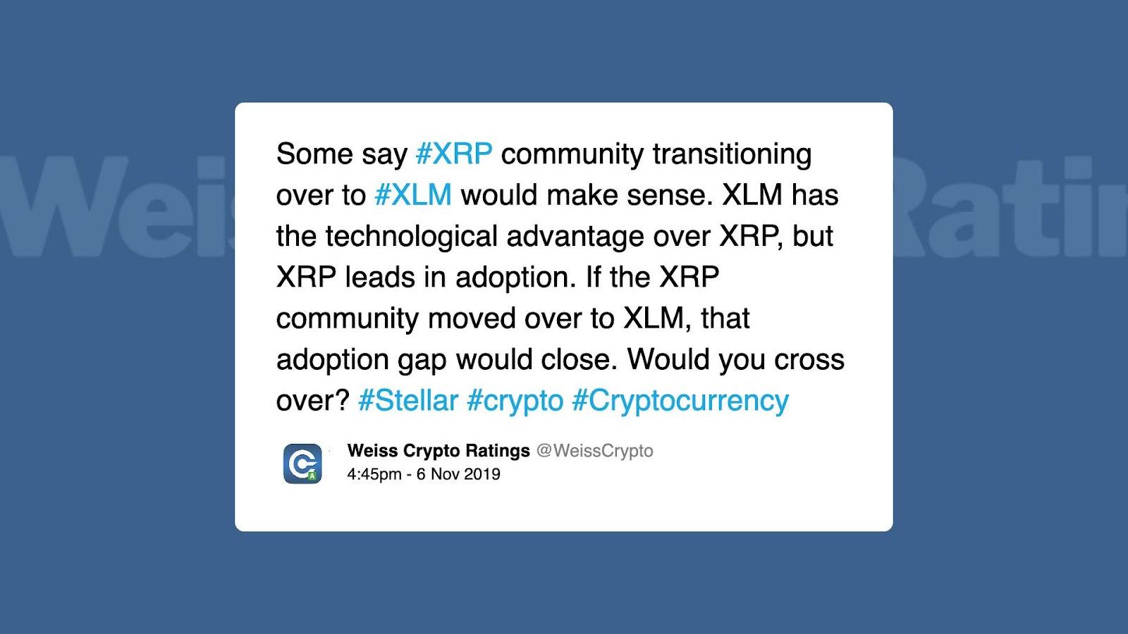 XRP / Stellar