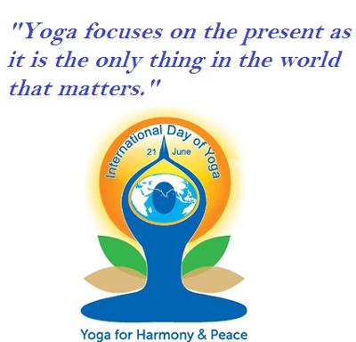 short essay on international yoga day