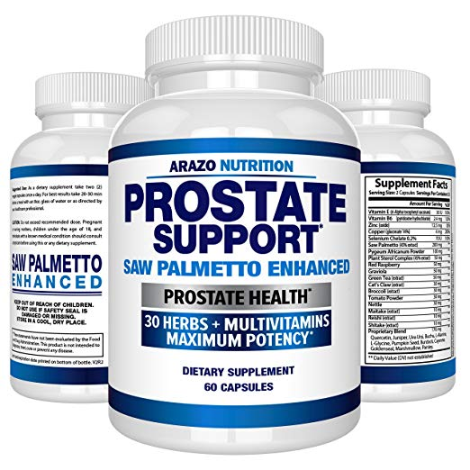 image of Arazo Nutrition prostate supplement