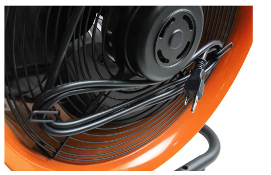 built-in cord management hooks