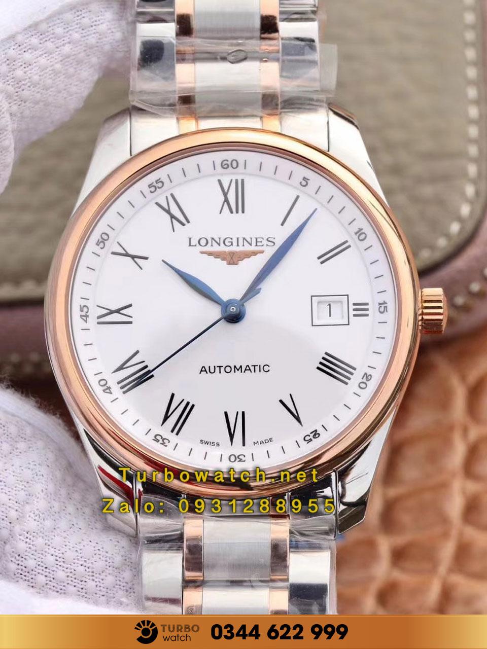 Đồng hồ Longines sang trọng, lịch lãm