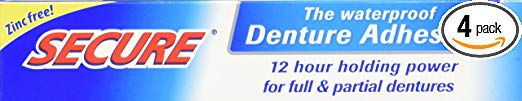 image of Secure denture adhesive