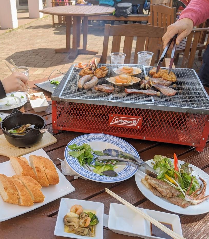 BBQing in Kawage